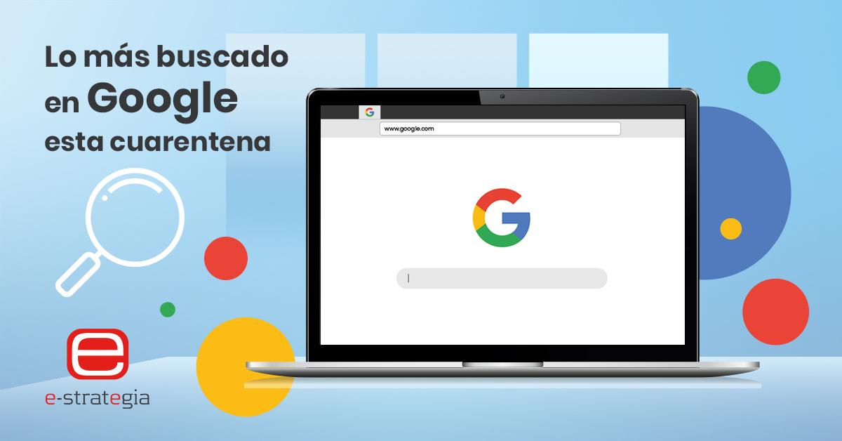 Lo Más buscado en google cuarentena, blog estrategia